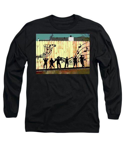 Don't Fence Me In Long Sleeve T-Shirt by Charles Shoup