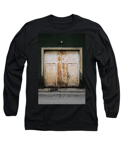 Long Sleeve T-Shirt featuring the photograph Door No 163 by Marco Oliveira