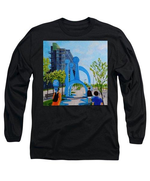 Toronto Canary District - Doors Open Toronto Long Sleeve T-Shirt