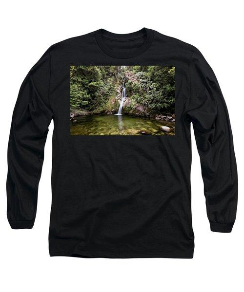 Dorothy Falls New Zealand Long Sleeve T-Shirt