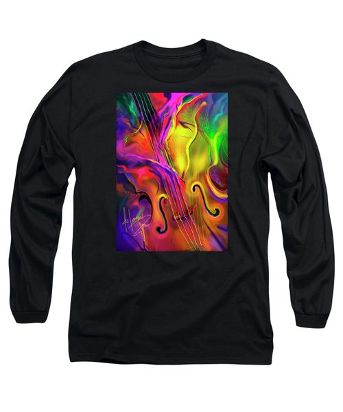 Double Bass Solo Long Sleeve T-Shirt