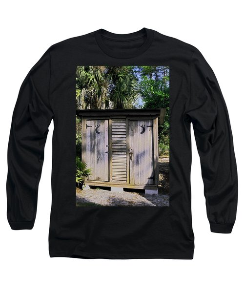 Double Duty Long Sleeve T-Shirt by Sally Weigand