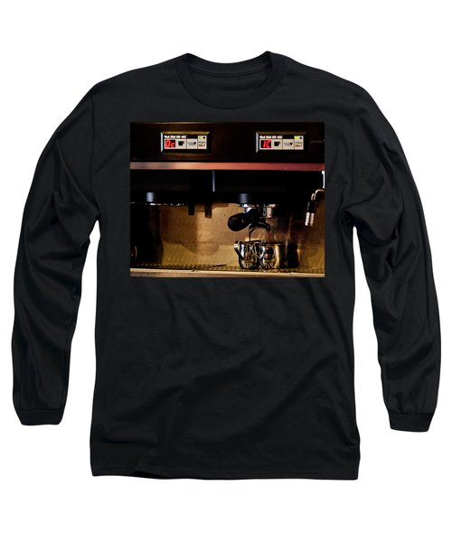 Double Shot Of Espresso Long Sleeve T-Shirt