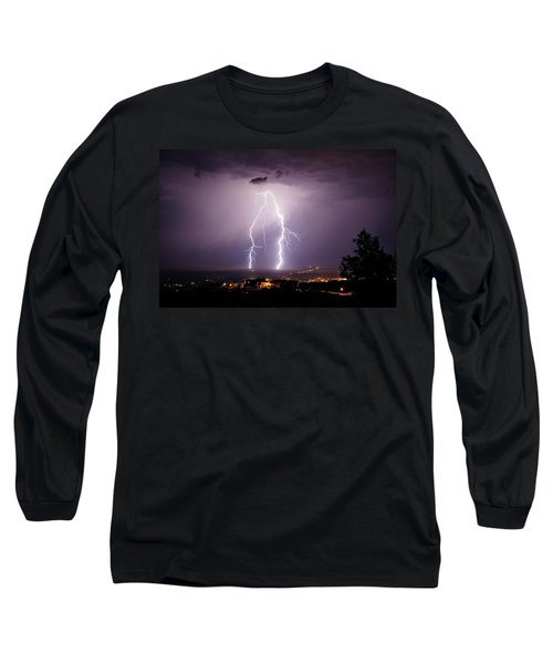 Long Sleeve T-Shirt featuring the photograph Double Trouble by Ron Chilston