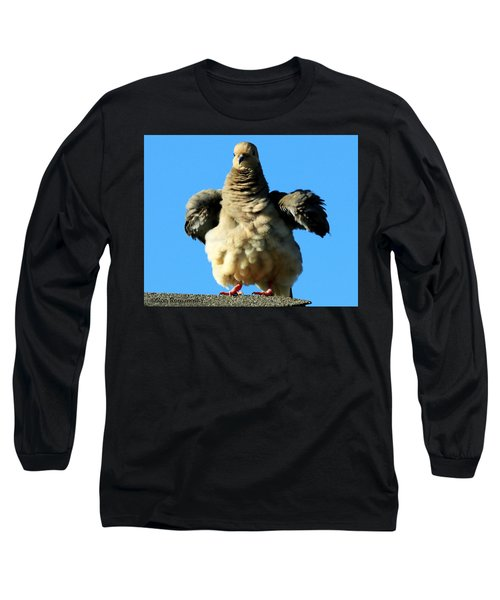 Dove On Steroids I Long Sleeve T-Shirt