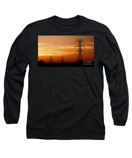 Down The Line Long Sleeve T-Shirt by Christy Ricafrente