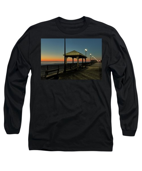 Down The Shore At Dawn Long Sleeve T-Shirt
