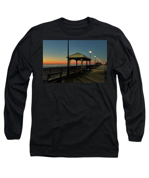 Down The Shore At Dawn Long Sleeve T-Shirt