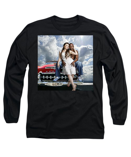 Downtown Long Sleeve T-Shirt by Jeff Burgess