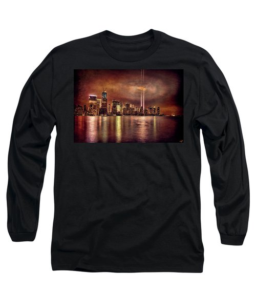 Downtown Manhattan September Eleventh Long Sleeve T-Shirt