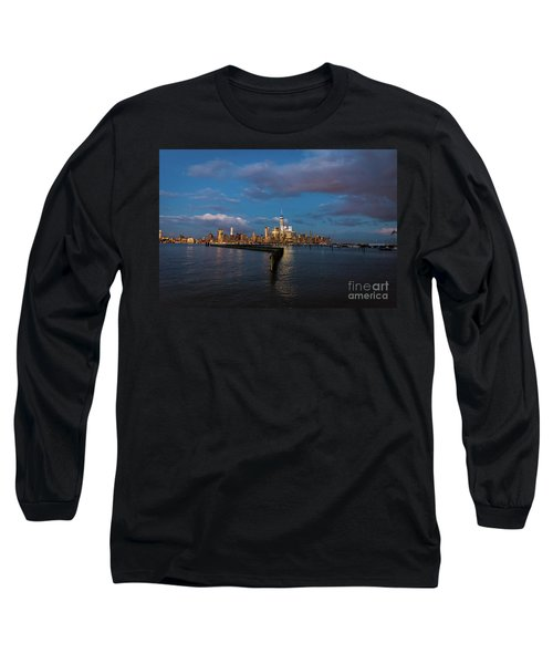 Downtown Manhattan Long Sleeve T-Shirt