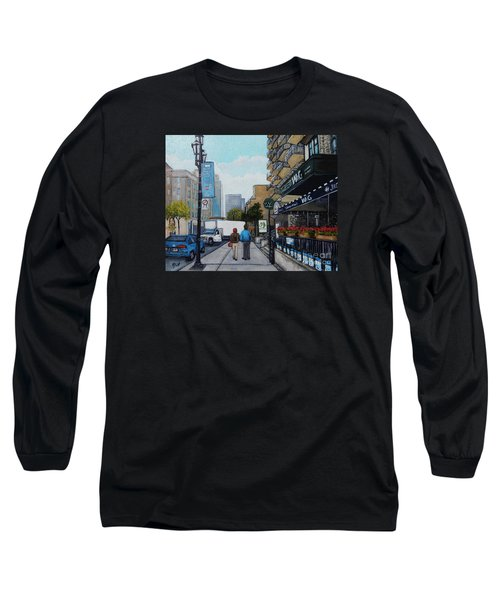 Downtown Montreal Long Sleeve T-Shirt