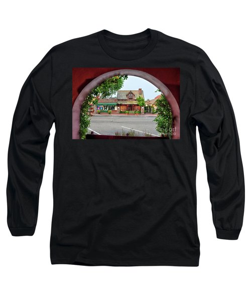 Downtown Solvang Long Sleeve T-Shirt