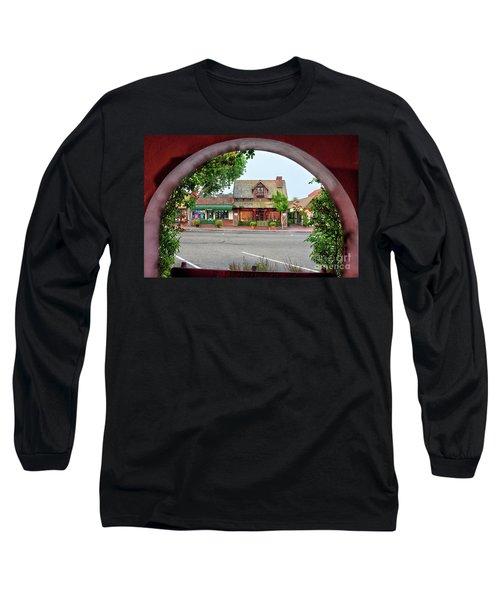 Downtown Solvang Long Sleeve T-Shirt