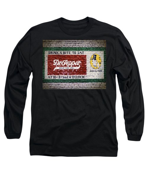 Dr Pepper Good For Life Long Sleeve T-Shirt