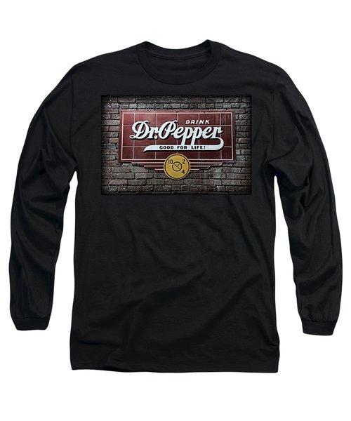 Dr Pepper Long Sleeve T-Shirt