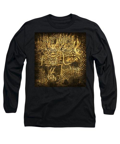 Dragon Pattern Long Sleeve T-Shirt