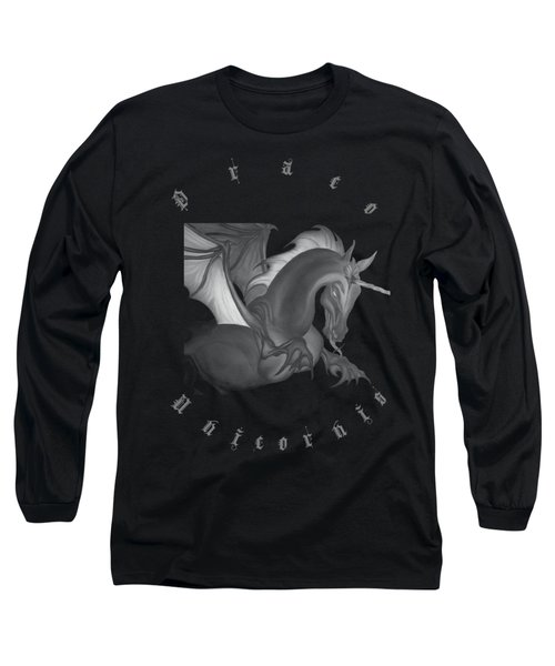 Dragon Unicorn  Long Sleeve T-Shirt
