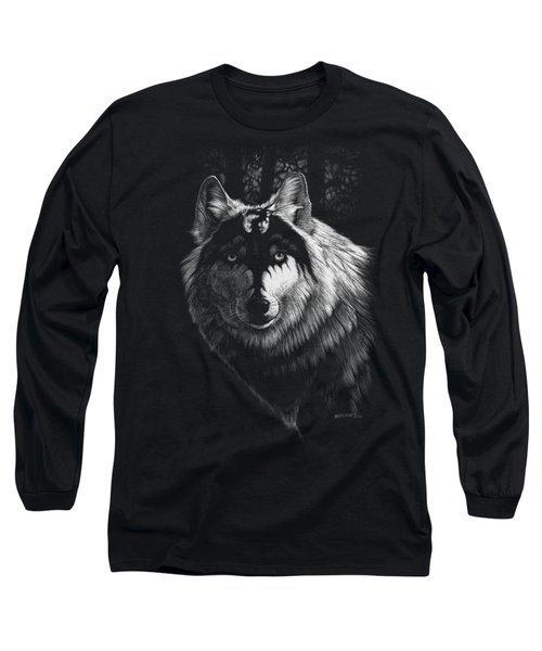 Dragon Wolf T-shirt Long Sleeve T-Shirt