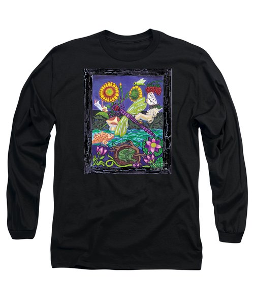 Dragonfly And Unicorn Long Sleeve T-Shirt