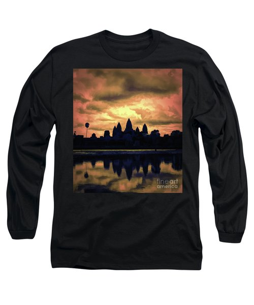 Dramatic Angkor Wat  Long Sleeve T-Shirt