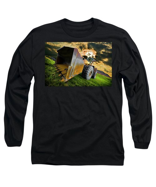 Dramatic Loader Long Sleeve T-Shirt by Meirion Matthias
