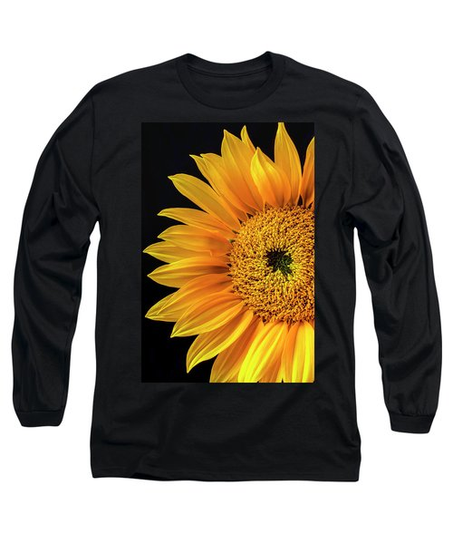 Dramatic Yellow Sunflower Long Sleeve T-Shirt