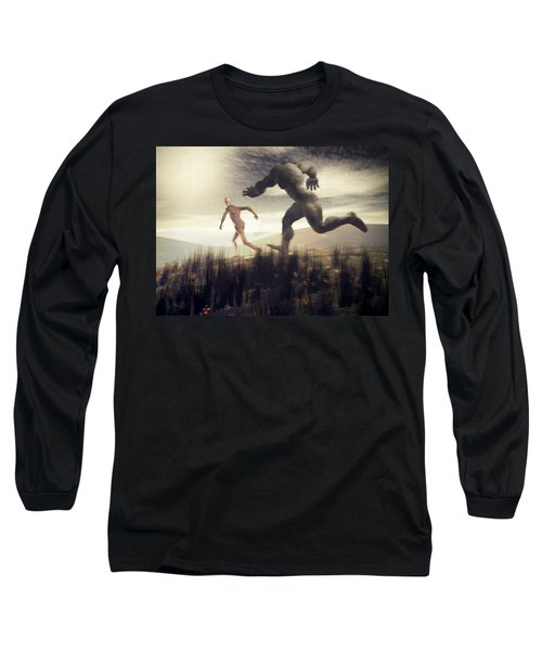Dreaming Of A Nameless Fear Long Sleeve T-Shirt