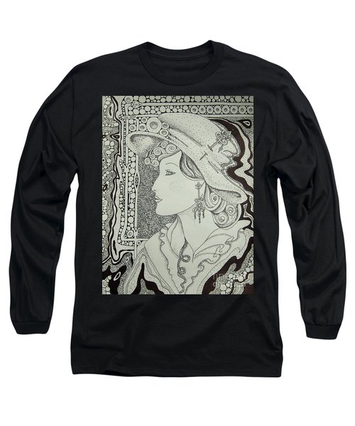 Dreaming Of Another Time Long Sleeve T-Shirt by Tamyra Crossley