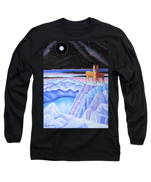 Dreamscape Long Sleeve T-Shirt by Tracy Dennison