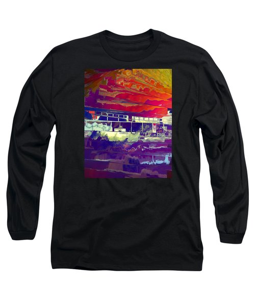 Dreamship Long Sleeve T-Shirt by Alika Kumar