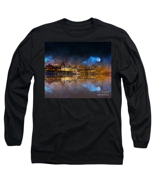 Dresden At Night Long Sleeve T-Shirt