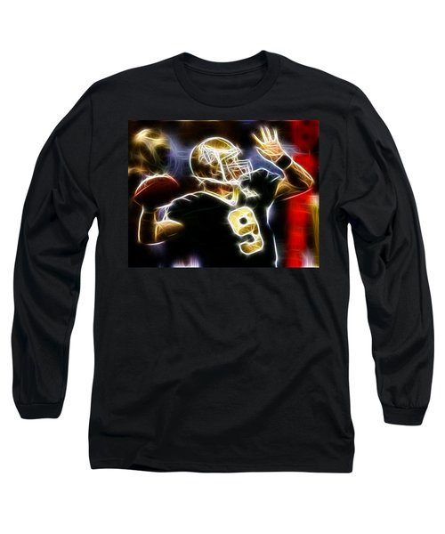 Drew Brees New Orleans Saints Long Sleeve T-Shirt