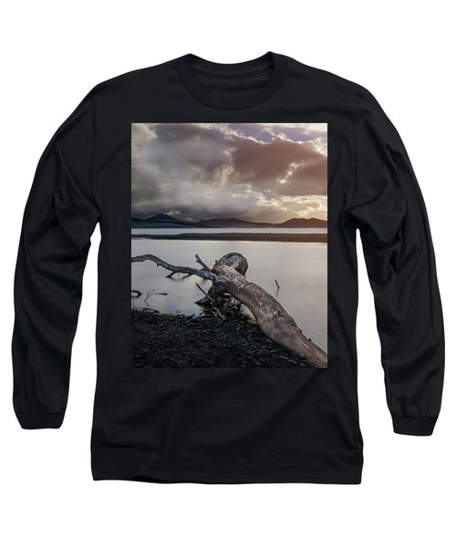 Driftwood At The End Of The World Long Sleeve T-Shirt