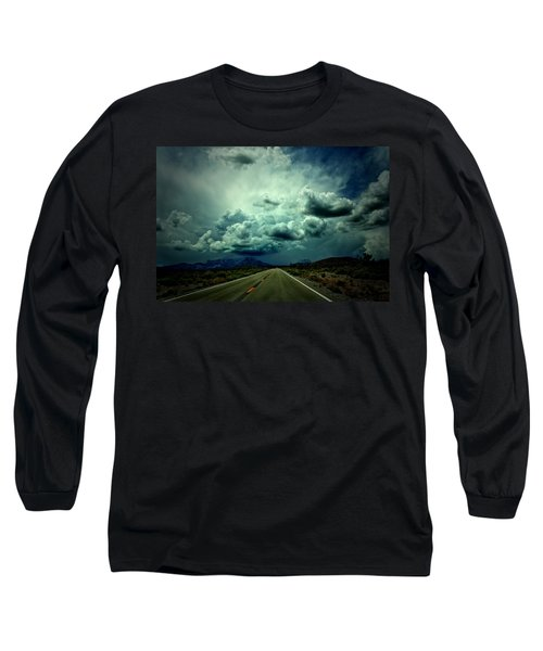 Drive On Long Sleeve T-Shirt by Mark Ross