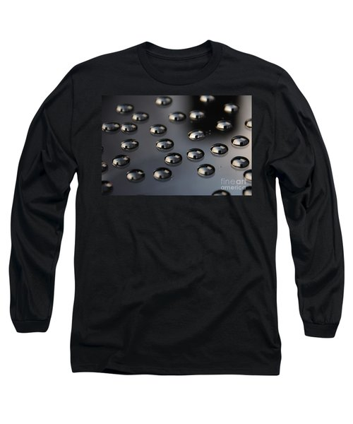 Drops Of Water -macro Long Sleeve T-Shirt