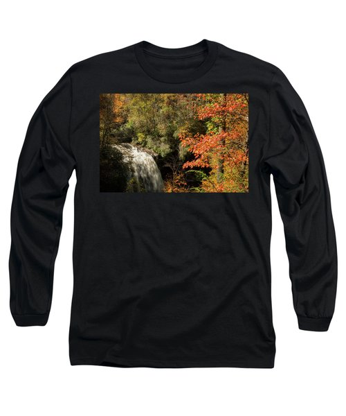 Dry Falls In North Carolina Long Sleeve T-Shirt