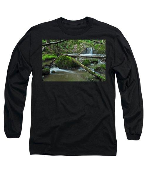 Dual Falls Long Sleeve T-Shirt by Glenn Gordon