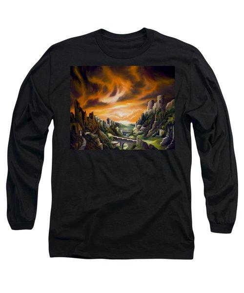 Duallands Long Sleeve T-Shirt by James Christopher Hill
