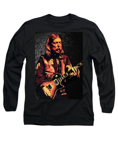 Duane Allman Long Sleeve T-Shirt