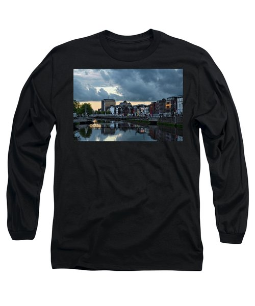 Dublin Sky At Sunset Long Sleeve T-Shirt