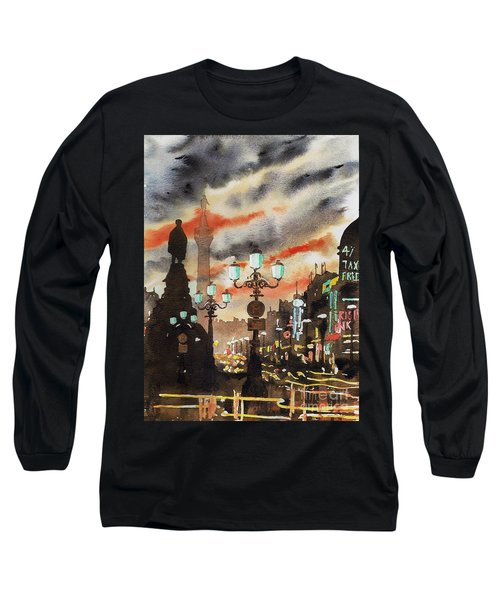 Dublin... The Ghost Of Nelson Long Sleeve T-Shirt
