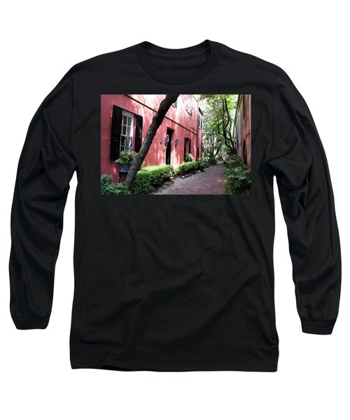 Dueler's Alley Long Sleeve T-Shirt by Ed Waldrop