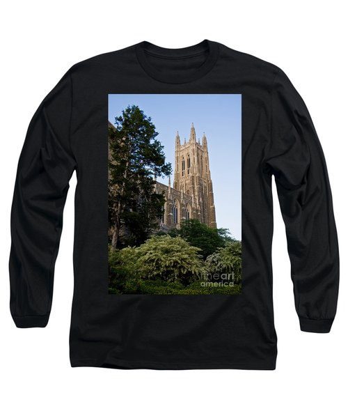 Duke Chapel Side View Long Sleeve T-Shirt