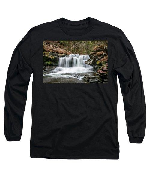 Dunloup Creek Falls Long Sleeve T-Shirt