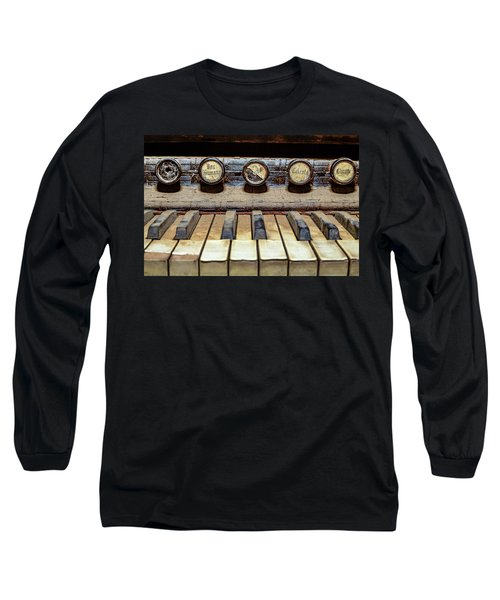 Dusty Old Keyboard Long Sleeve T-Shirt