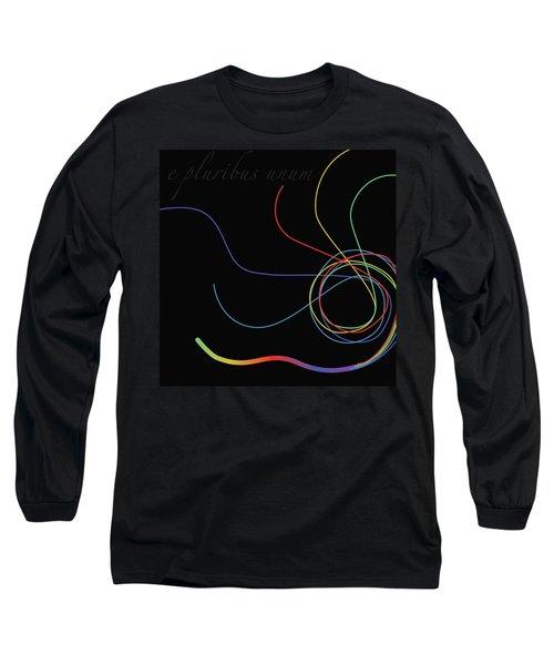E Pluribus Unum Long Sleeve T-Shirt