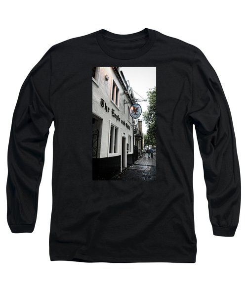 Eagle And Child Pub - Oxford Long Sleeve T-Shirt by Stephen Stookey