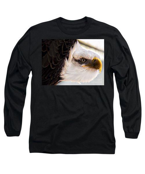 Eagle Eye Long Sleeve T-Shirt by Sherman Perry