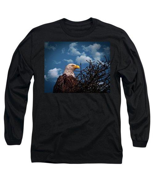 Eagle Portrait  Long Sleeve T-Shirt